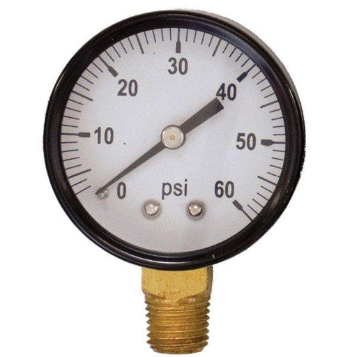 Regulator Gauge - 0-60 psi RHT