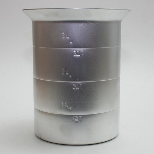 Aluminum Measuring Pitcher - 4 quart