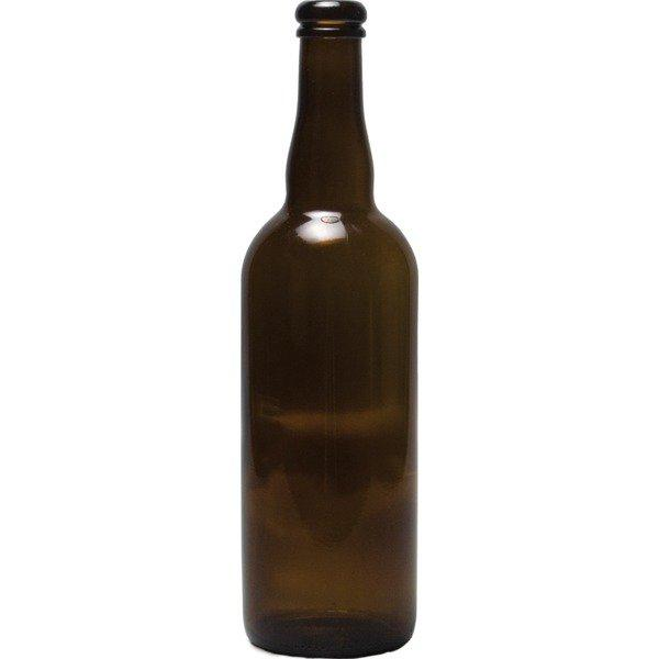 750 milliliter Belgian-style Beer Bottle with a Cork Finish