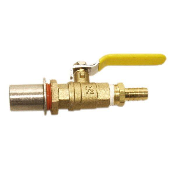 Bronze Kettle Valve Kit w/ barb