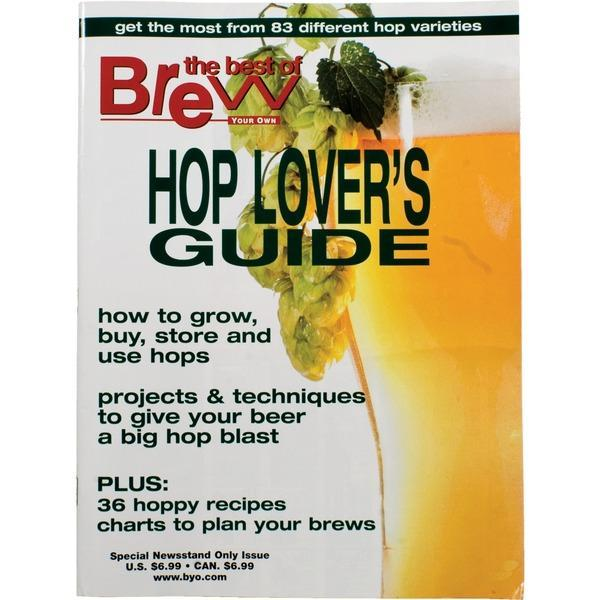 The front cover of Brew Your Own Magazine - Hop Lover's Guide edition