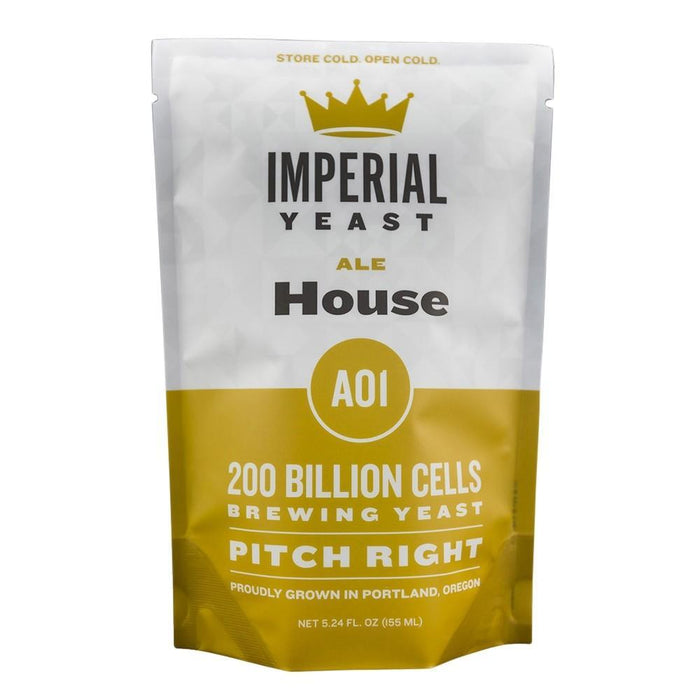 Pouch of Imperial Yeast A01 House