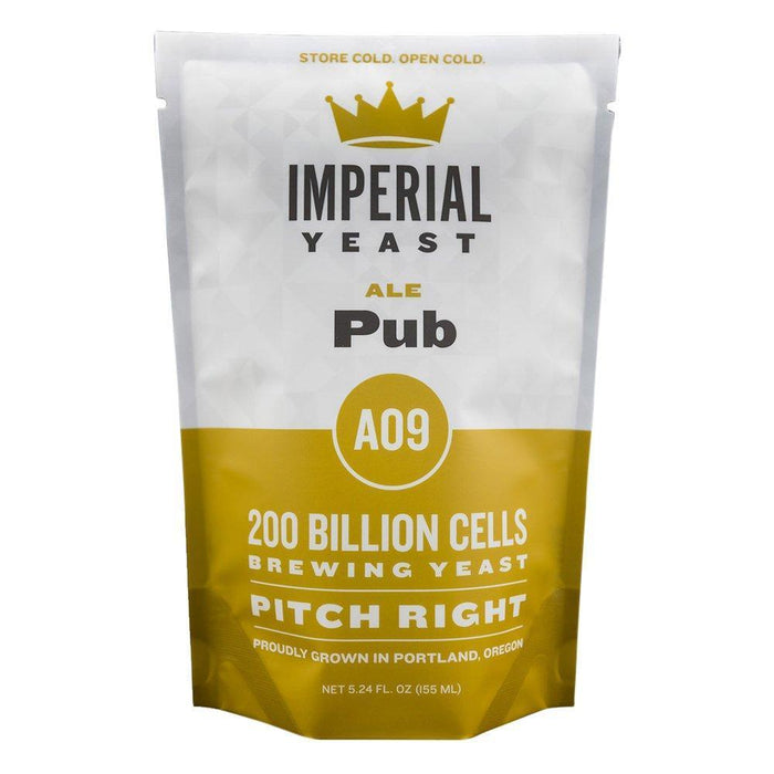 Imperial Yeast A09 Pub in its packaging