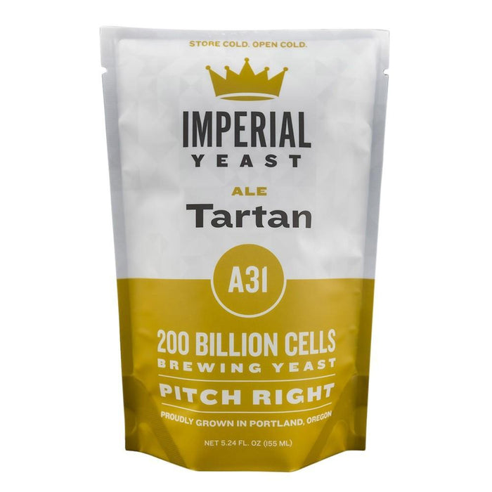 Imperial Yeast A31 Tartan pouch