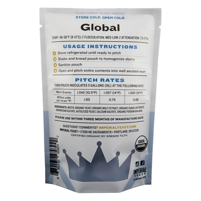 Imperial Yeast L13 Global detail
