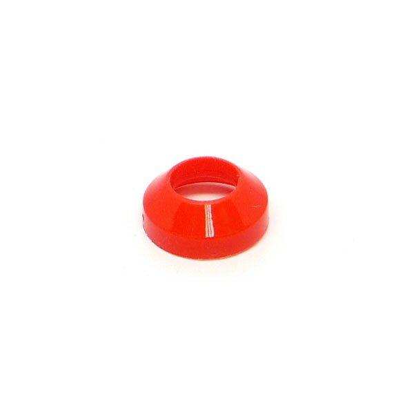 Red Flared Washer for Cold Plate Fittings