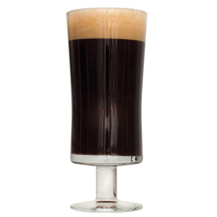 Chocolate Milk Stout in a drinking glass