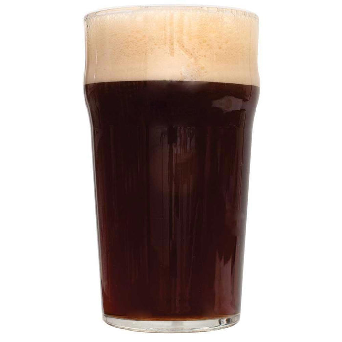 Glass filled with Dry Irish Stout