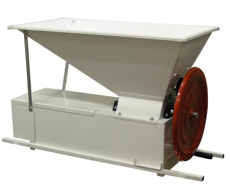 (Enoitalia) Adjustable Manual Crusher/De-Stemmer (Painted)