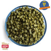 Minnesota Cascade Hops Pellets Grown by Mighty Axe Hops™