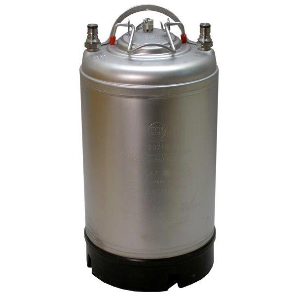 Draft Brewer® 2.5 gallon New Ball Lock Keg