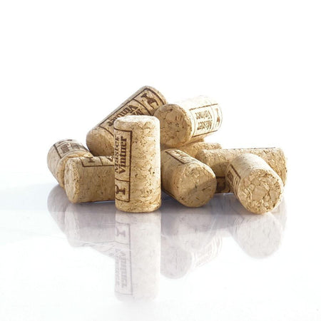 Small pile of First Quality #8x1.75 Corks
