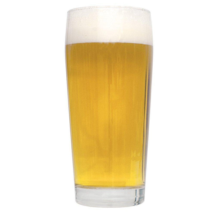 A glass filled with Pre-Prohibition lager