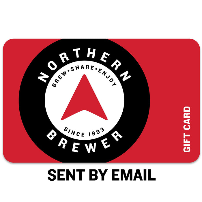 "Northern Brewer Email logo with thet text ""Sent by email"" beneath it"
