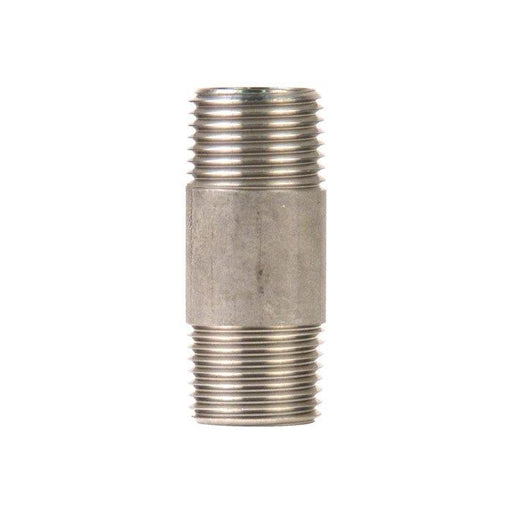 "Nipple 304 Stainless 1/2"", 2"" long"