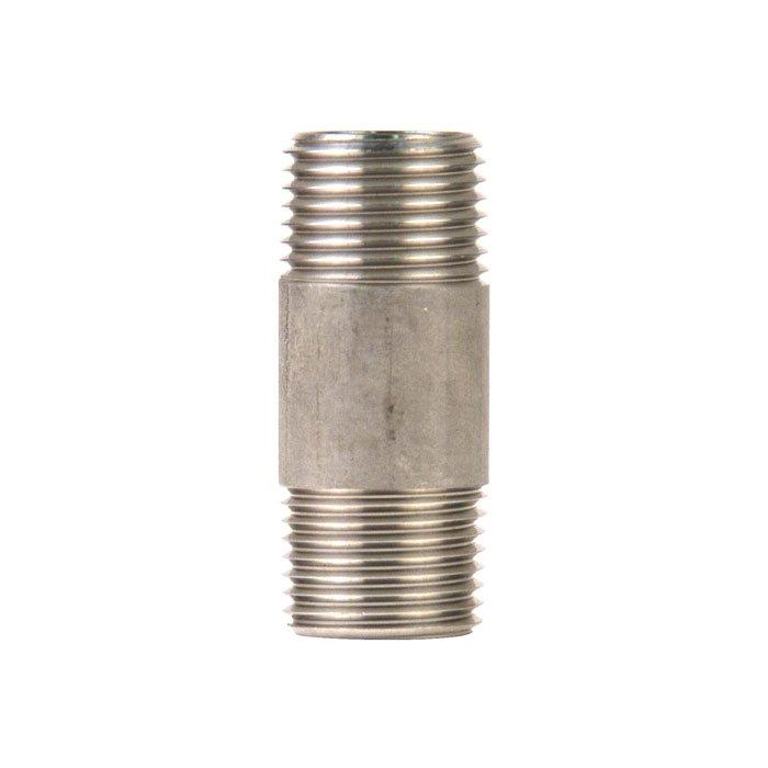 2-inch long 304 stainless steel Nipple