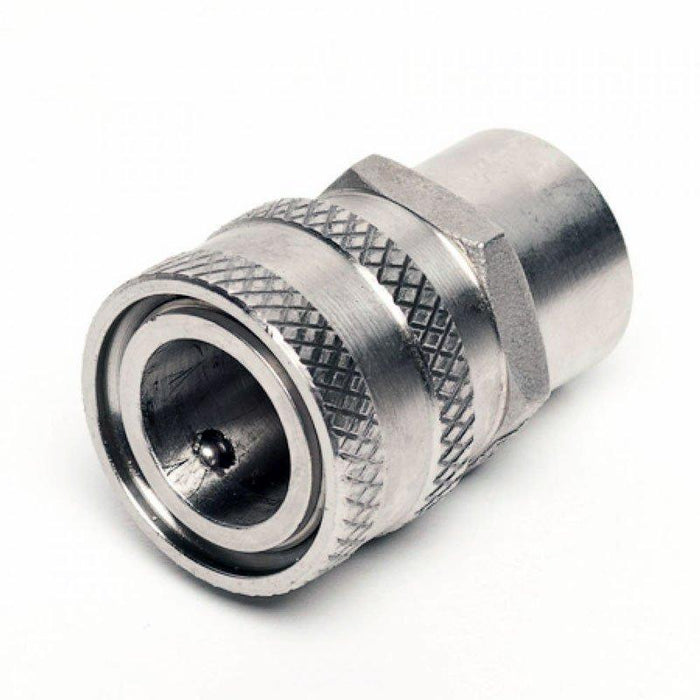 "Female Stainless Quick Disconnect x 1/2"" FPT"