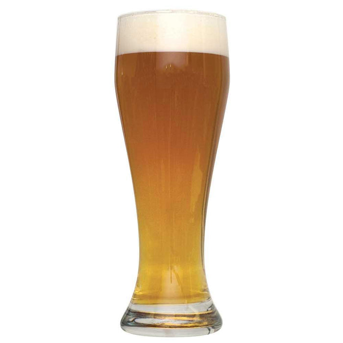 Bavarian Hefeweizen Extract homebrew in a glass