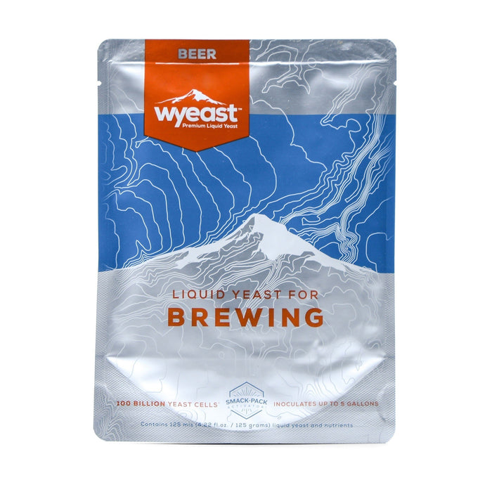 Wyeast's 3944 Belgian Wit yeast in its container