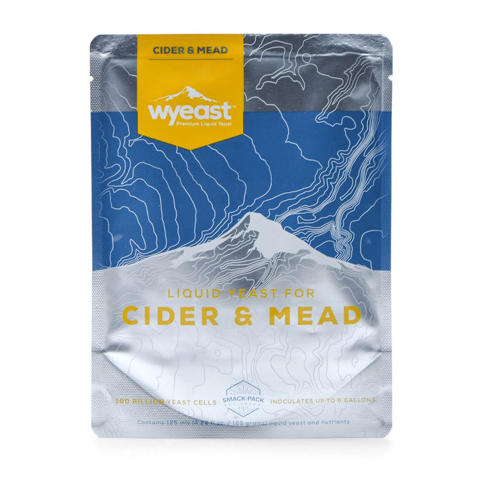 Wyeast's 4766 Cider yeast packaging