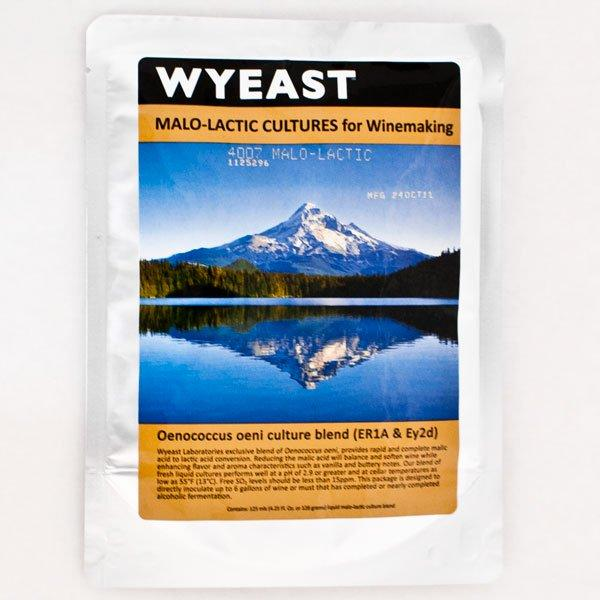Wyeast's packaging for 4007 Malo Lactic Blend