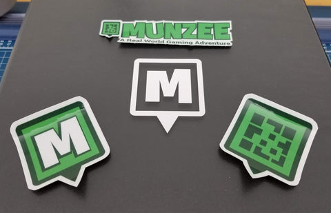 Munzee Decal Stickers