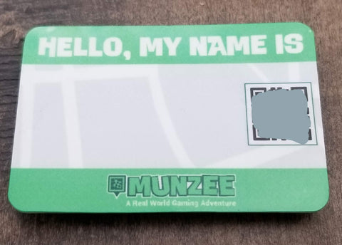 Munzee Name Badge