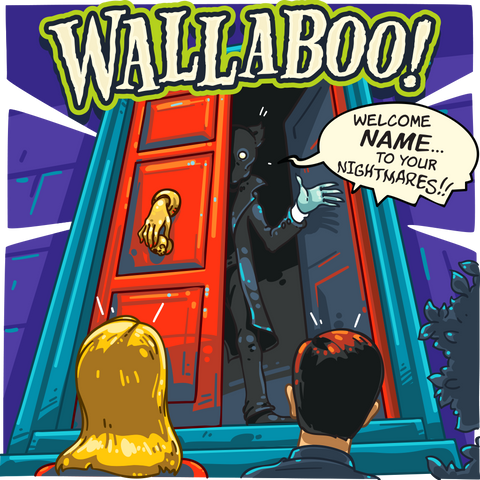 WallaBash - Personalized Halloween Unique