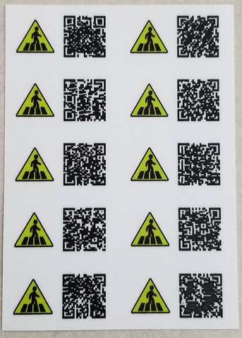 Mini Urban Camo Generics (10 stickers)
