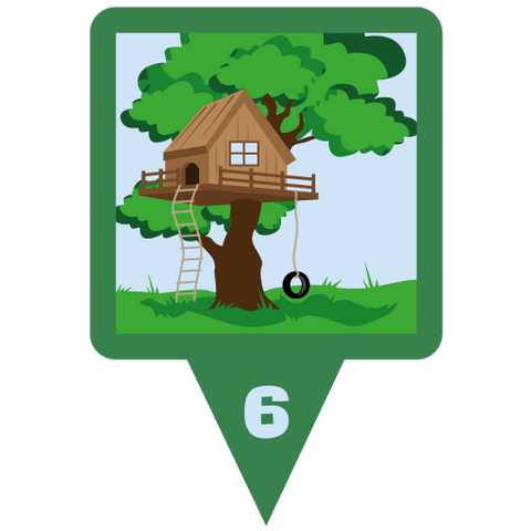 Treehouse Munzee Credit