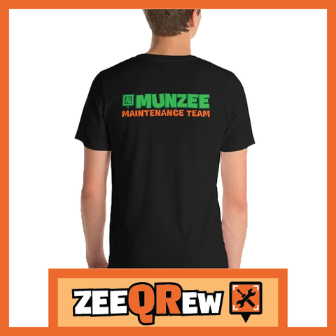 Munzee Maintenance Team Short-Sleeve Unisex T-Shirt
