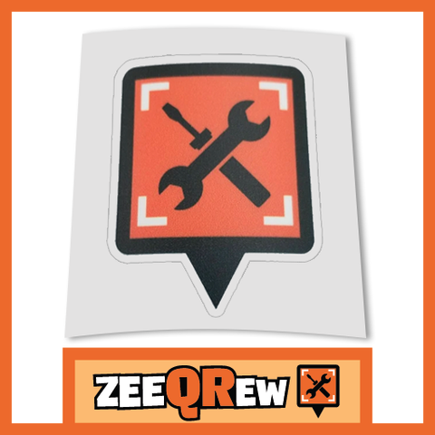 ZeeQRew Icon Decal