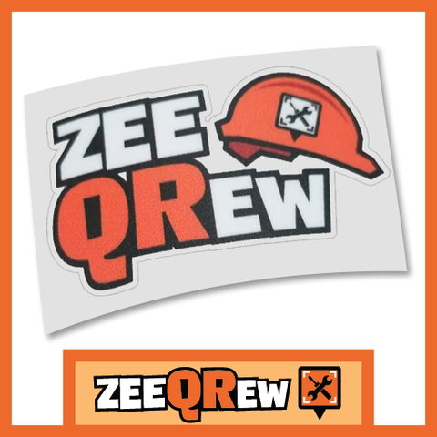 ZeeQRew Logo Decal