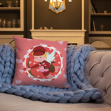 Special Delivery Cupid Pillow