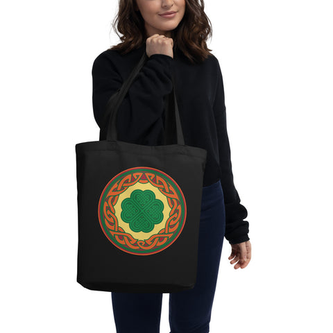 Celtic Clover Knot Eco Tote Bag