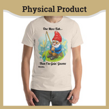 Fishing Gnome - Unisex T-Shirt
