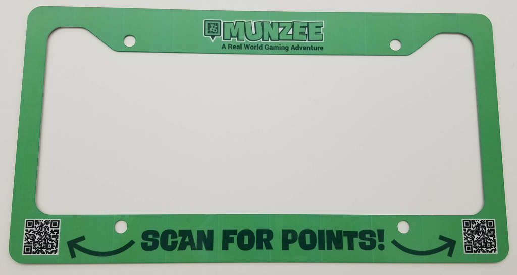 License Plate Frames – Freeze Tag Store