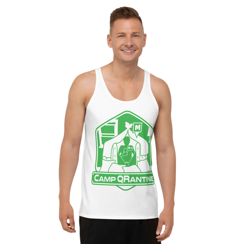 Camp QRantine Unisex Tank Top