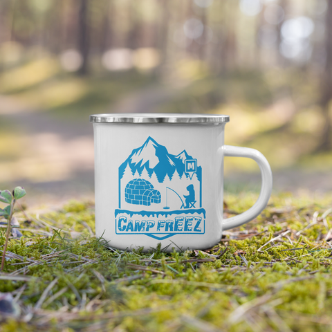 Camp FrEEZ Enamel Mug