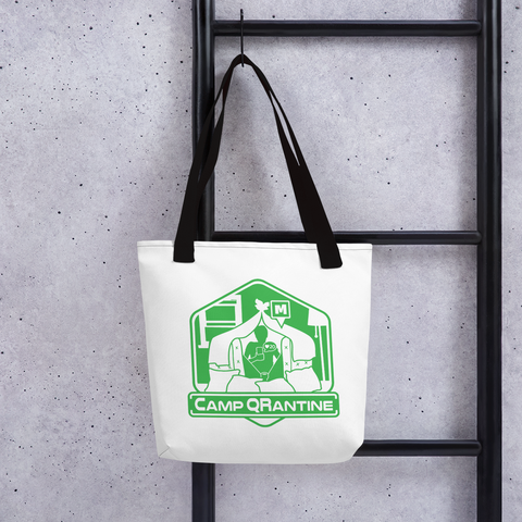 Camp QRantine Tote bag