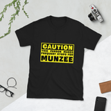 CAUTION, This Person makes Frequent Stops Short-Sleeve Unisex T-Shirt
