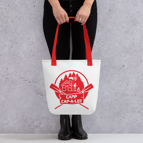 Camp Cap-A-Lot Tote bag