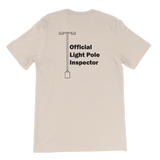 ZeeQRew Official Light Pole Inspector Short-Sleeve Unisex T-Shirt