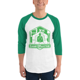 Camp QRantine 3/4 sleeve raglan shirt