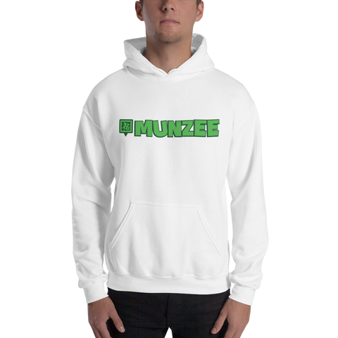Munzee Logo Hooded Sweatshirt