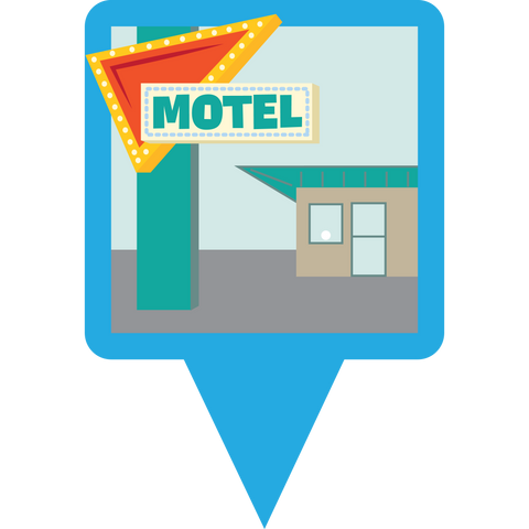 Motel Munzee (Credit)
