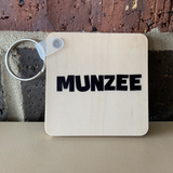 Munzee Referral Keychains