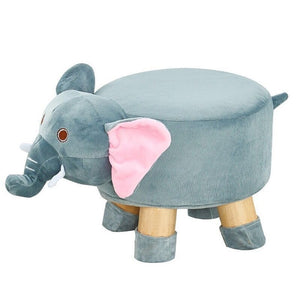 Pouf tabouret animaux