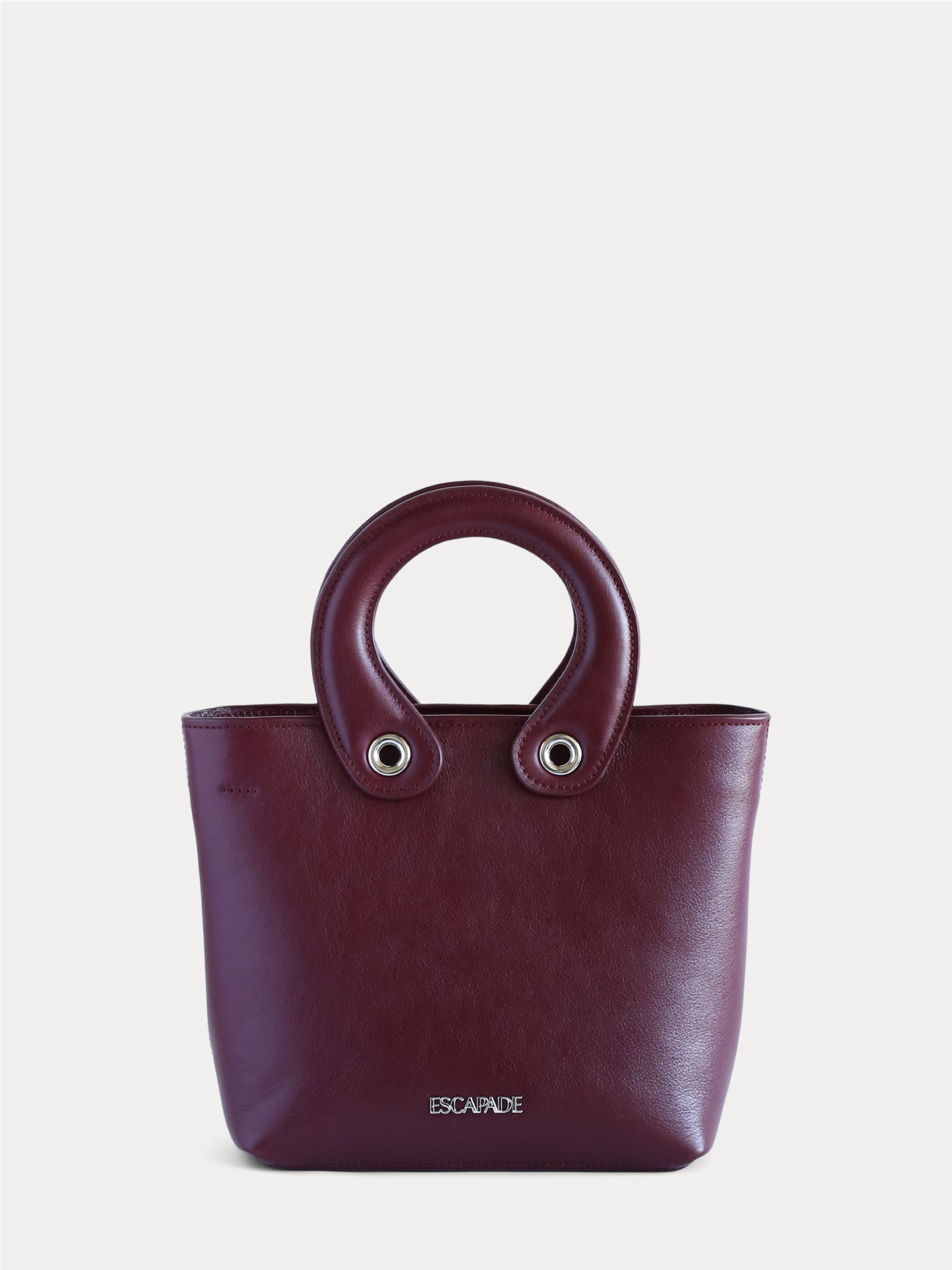 Brooklyn. Leather Mini-Tote Bag.