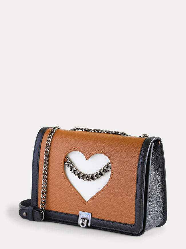 cross body leather bag savage love